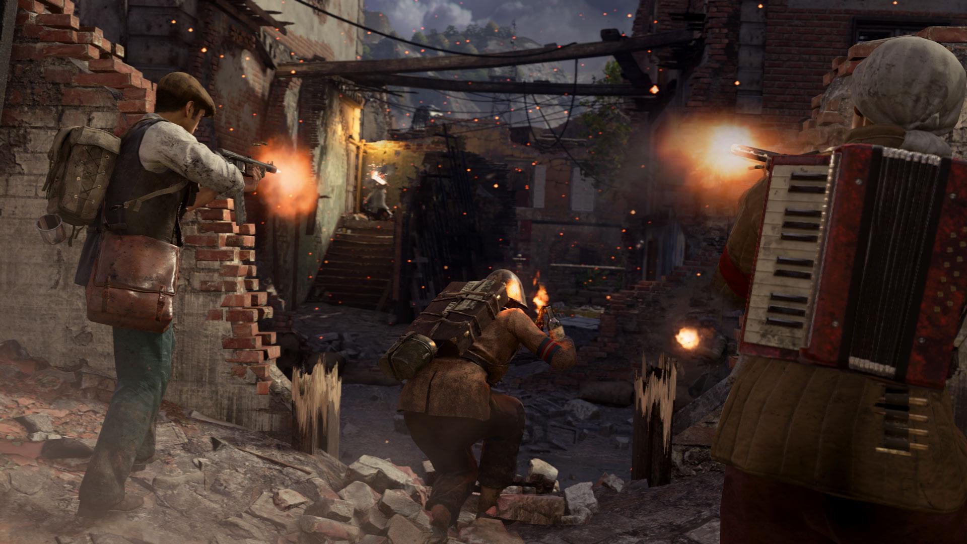 Скриншот №8 к Call of Duty WWII - сезонный абонемент