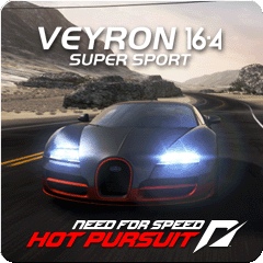 Need for Speed™ Hot Pursuit Bugatti Veyron Super Sport