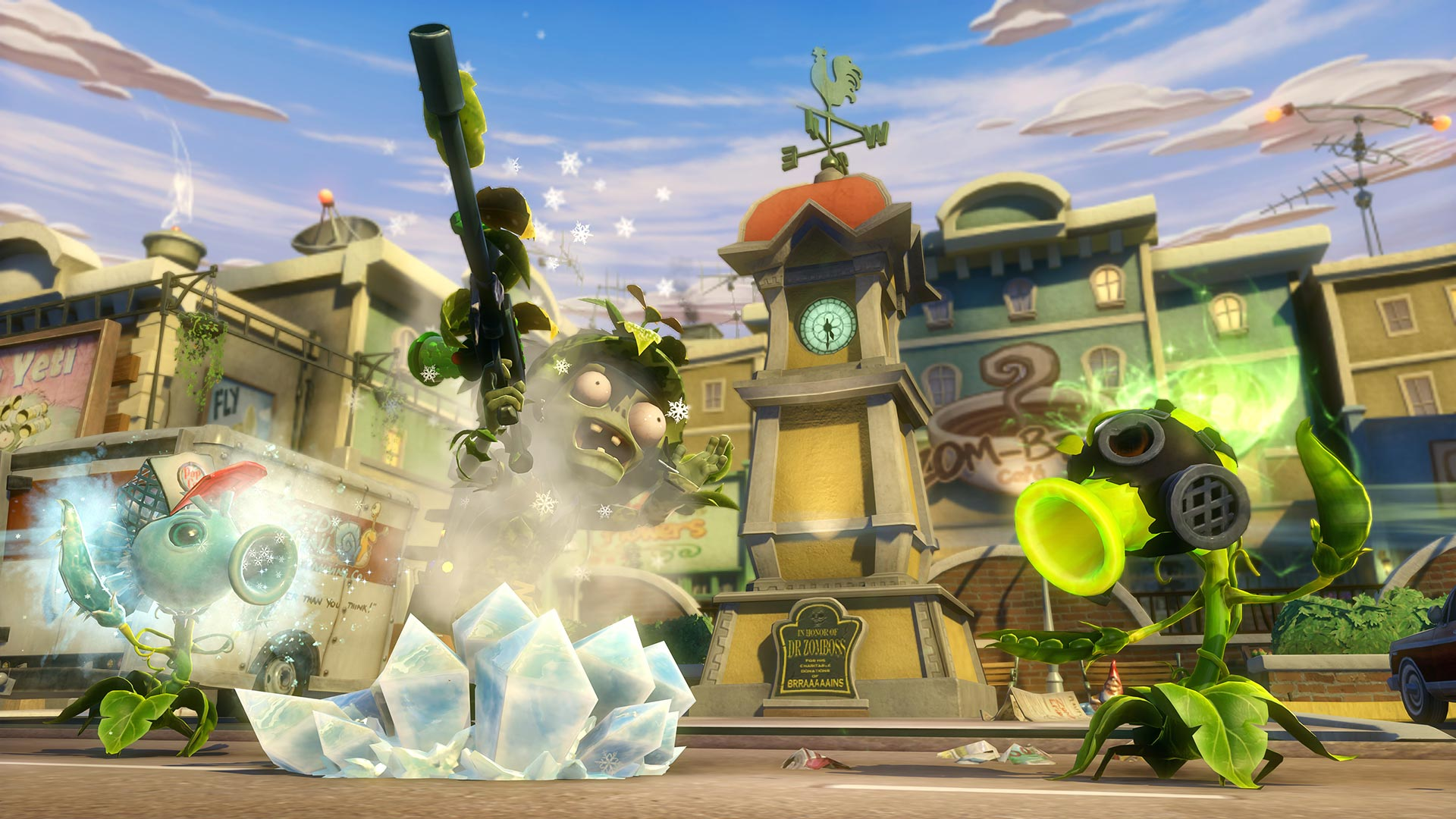 Plants vs Zombies Garden Warfare on PS4 – Plants Vs Zombies Garden