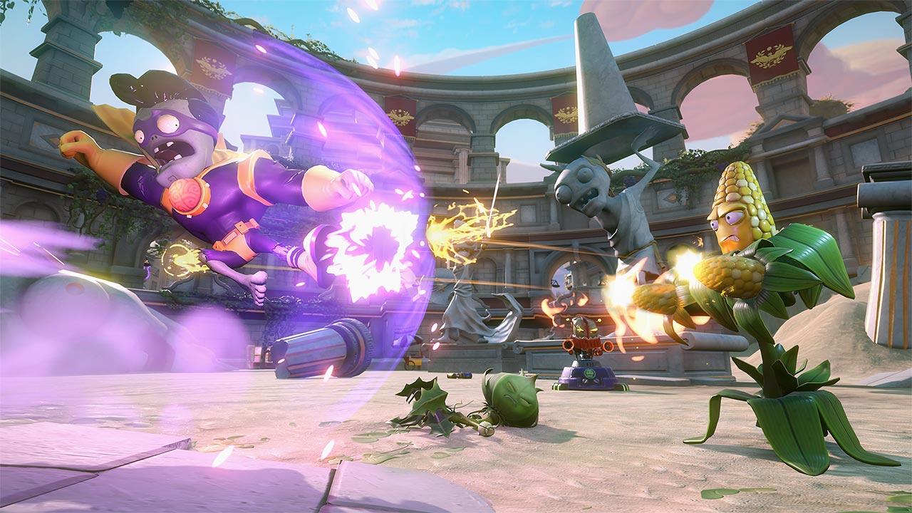 Скриншот №3 к Plants vs. Zombies Garden Warfare 2