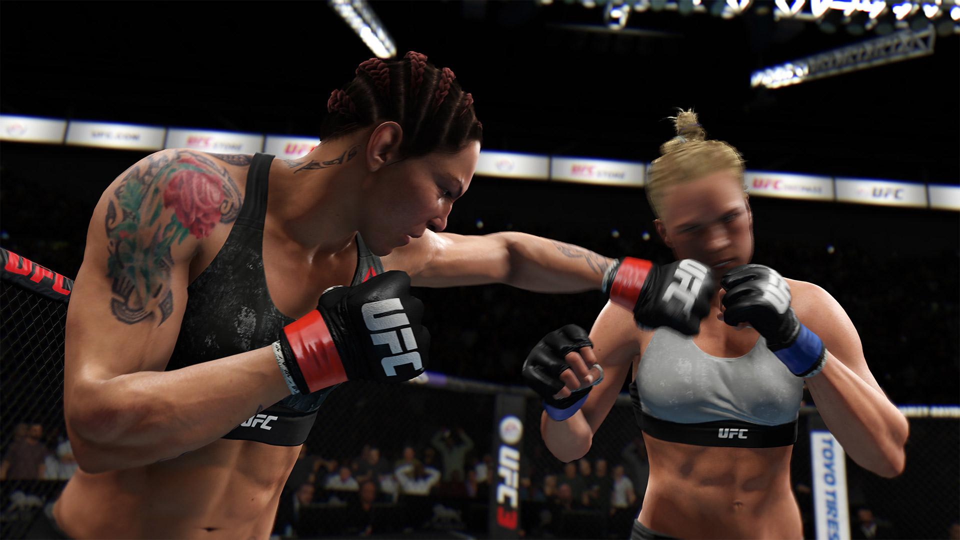 Скриншот №1 к EA SPORTS UFC 3