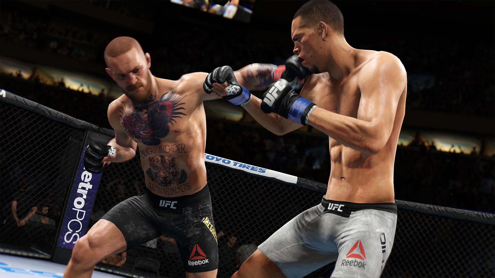 Скриншот №3 к EA SPORTS UFC 3