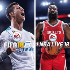 EA SPORTS FIFA 18 et NBA LIVE 18  : Edition l'Elu