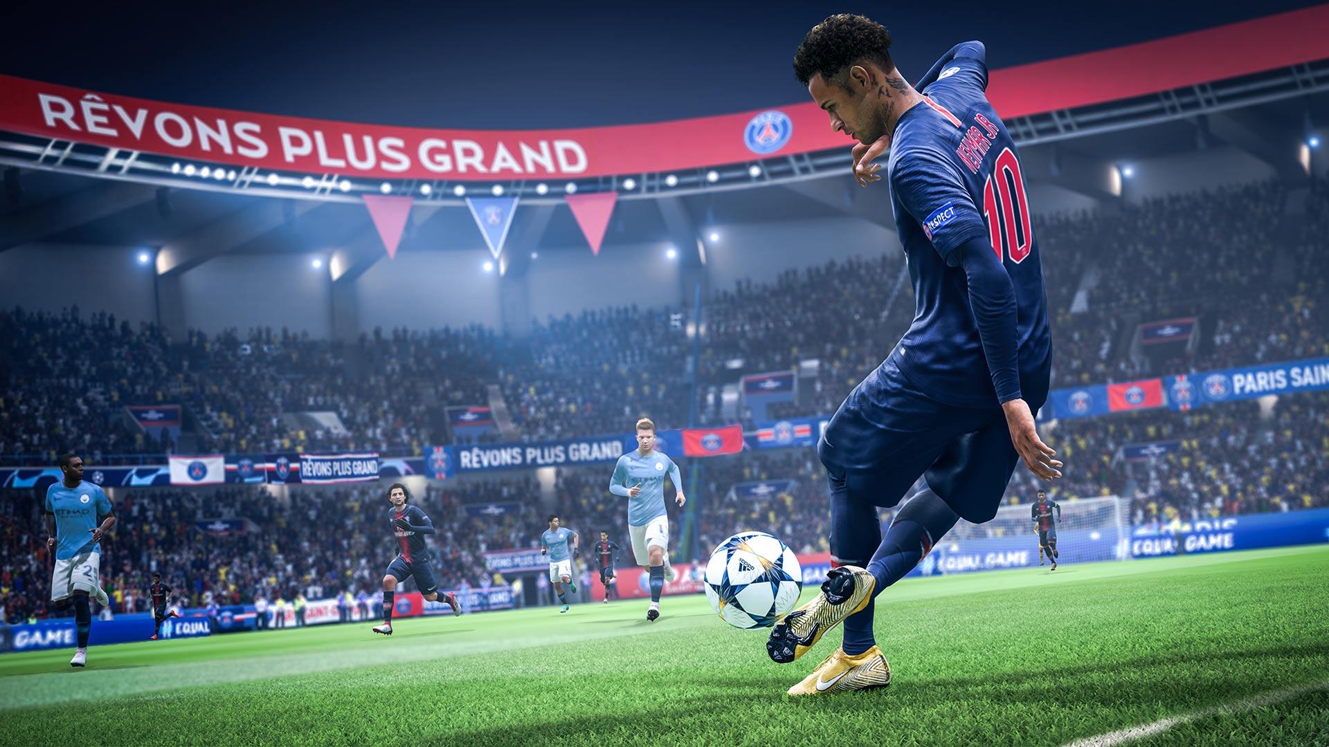Аренда FIFA 19 на PS4