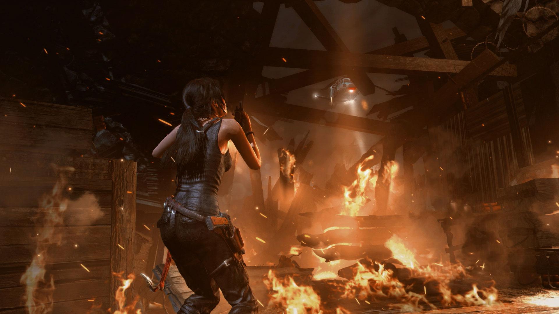 Скриншот №3 к Tomb Raider Definitive Edition