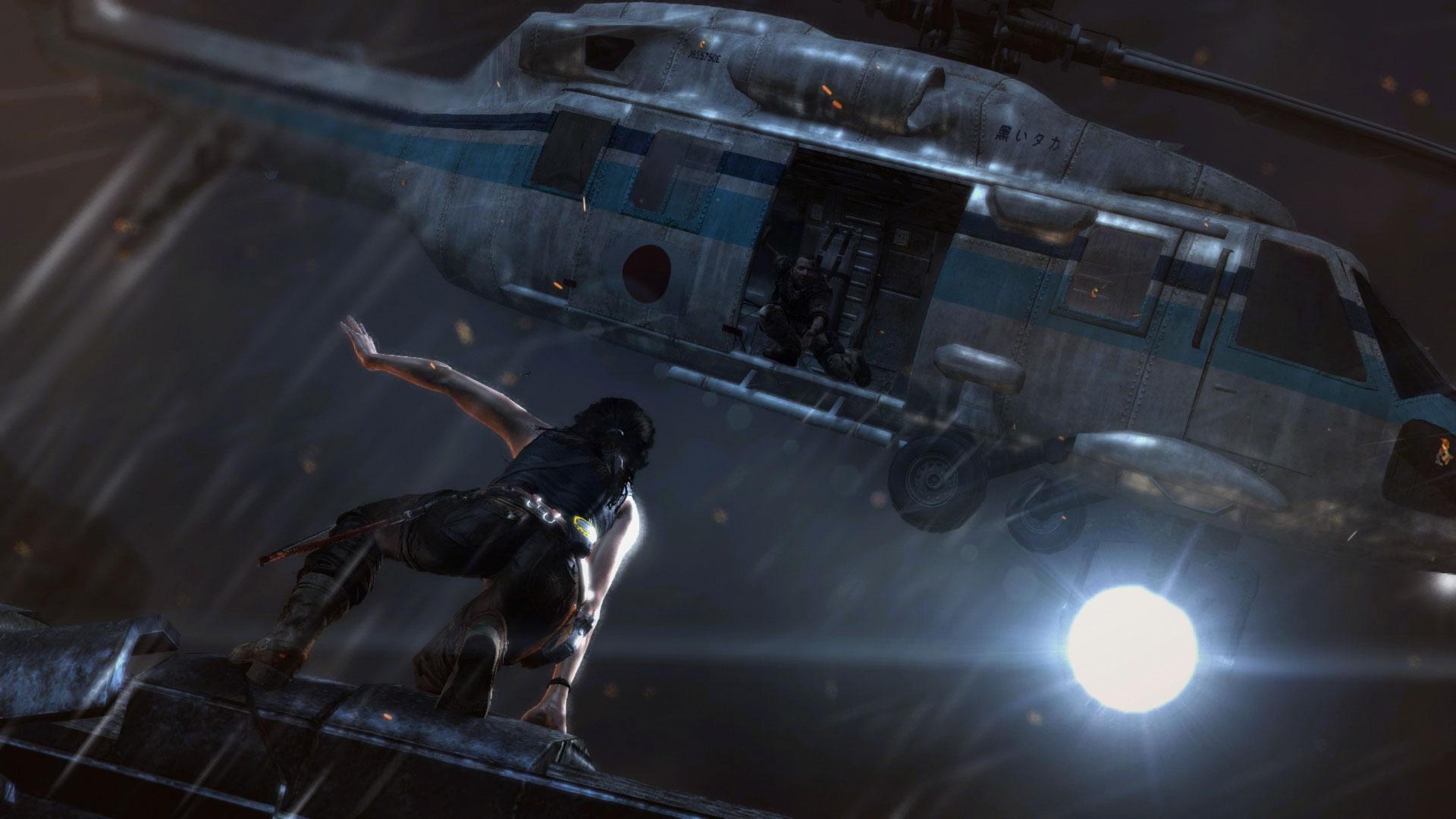Скриншот №1 к Tomb Raider Definitive Edition