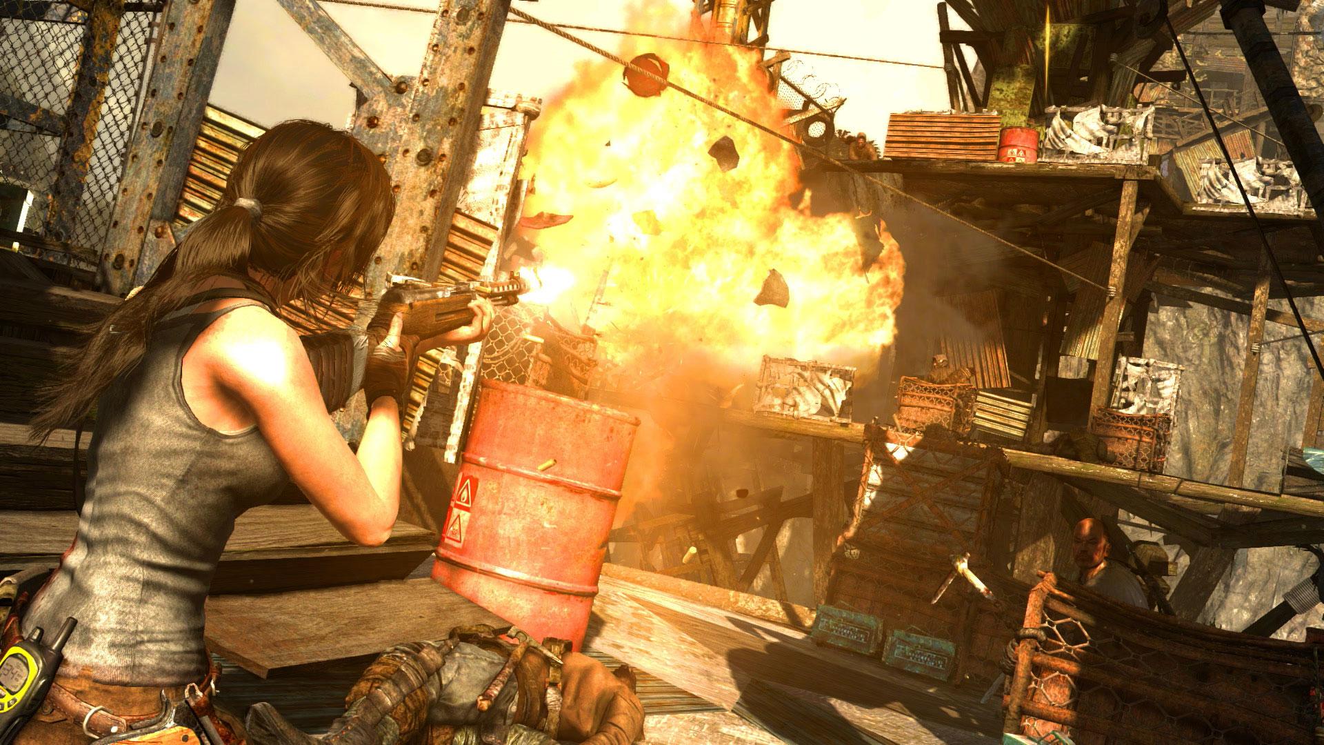 Скриншот №7 к Tomb Raider Definitive Edition