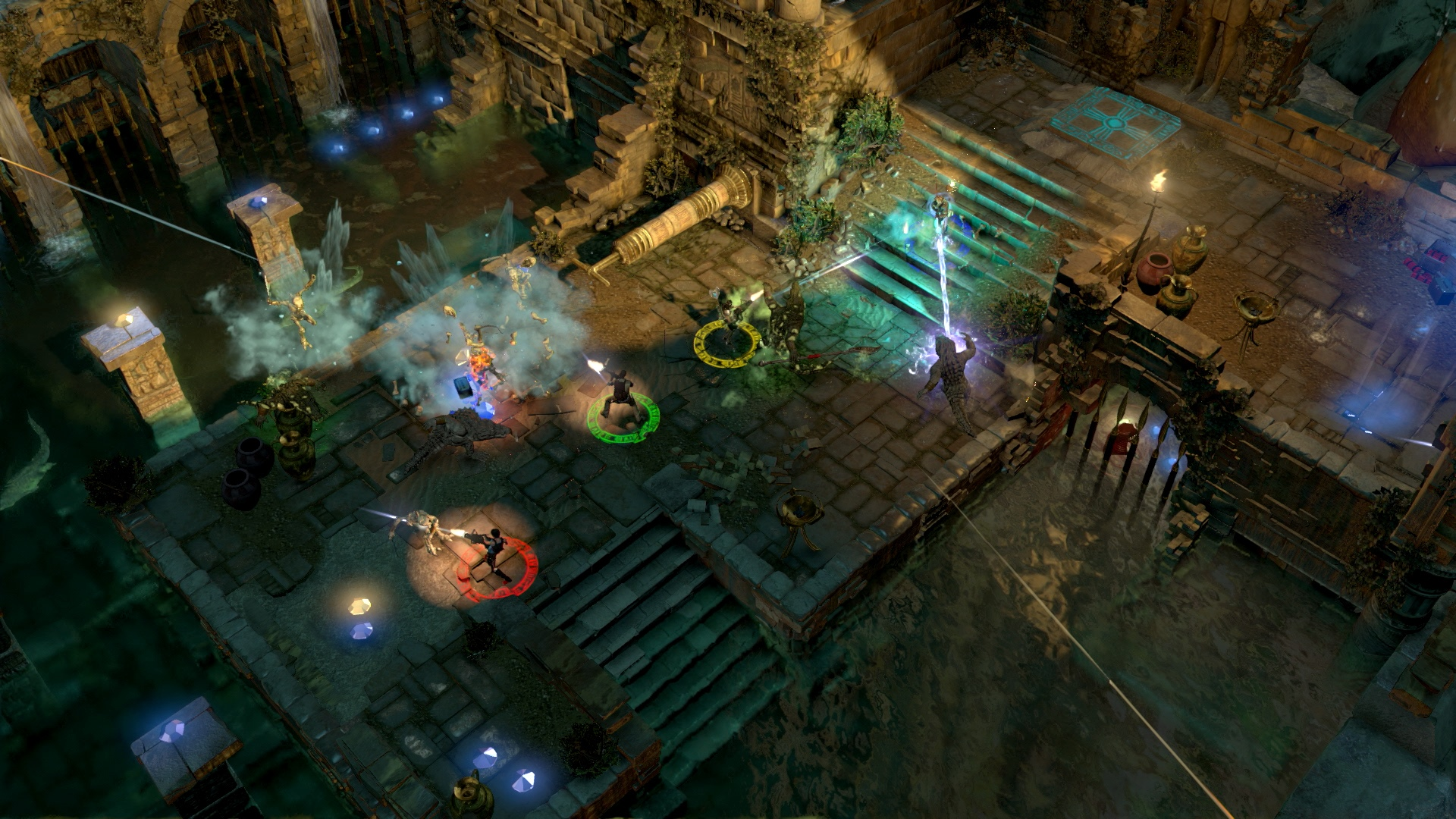 Скриншот №7 к Lara Croft and the Temple of Osiris