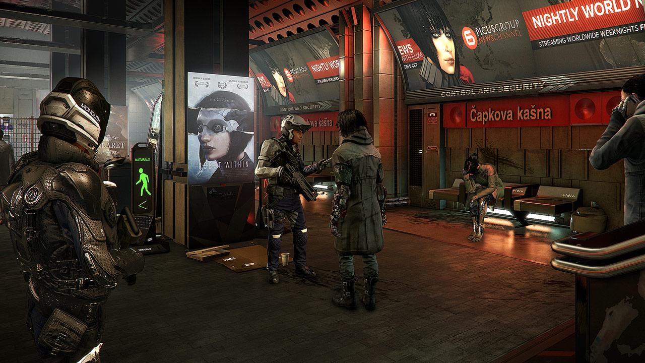 Скриншот №5 к Deus Ex Mankind Divided — люксовое цифровое издание