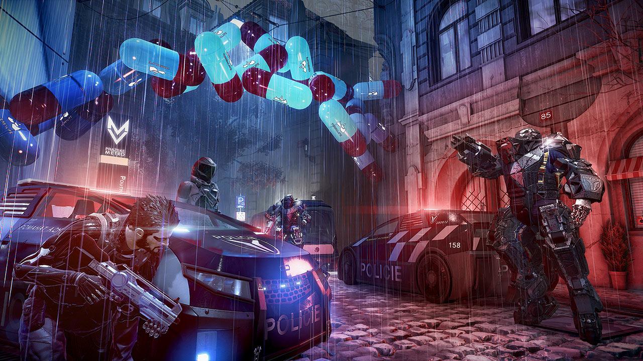 Скриншот №4 к Deus Ex Mankind Divided — люксовое цифровое издание