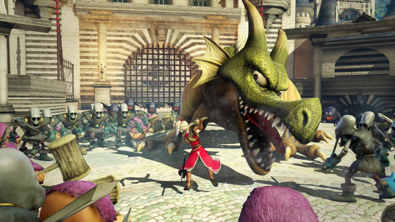Скриншот №2 к DRAGON QUEST HEROES – цифровое коллекционное издание Slime