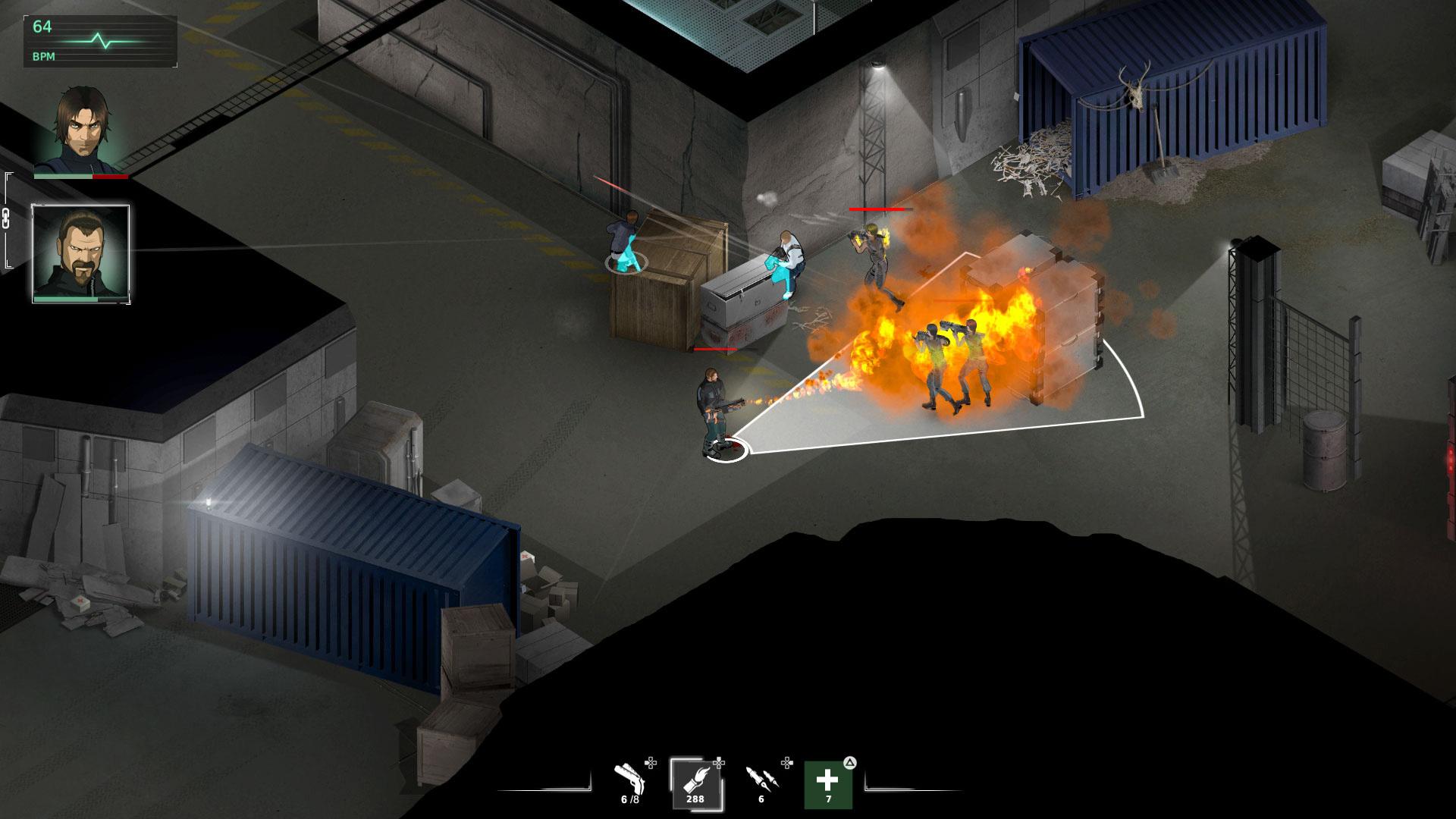 Fear Effect Sedna скриншот 8