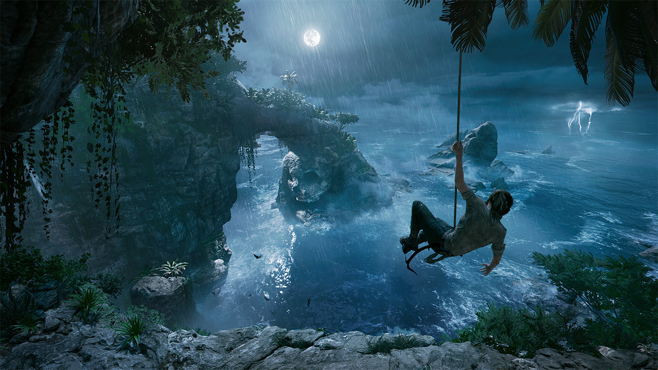Аренда Shadow of the Tomb Raider на PS4