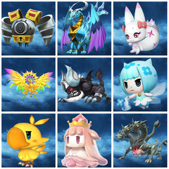 WORLD OF FINAL FANTASY - Pack de créatures