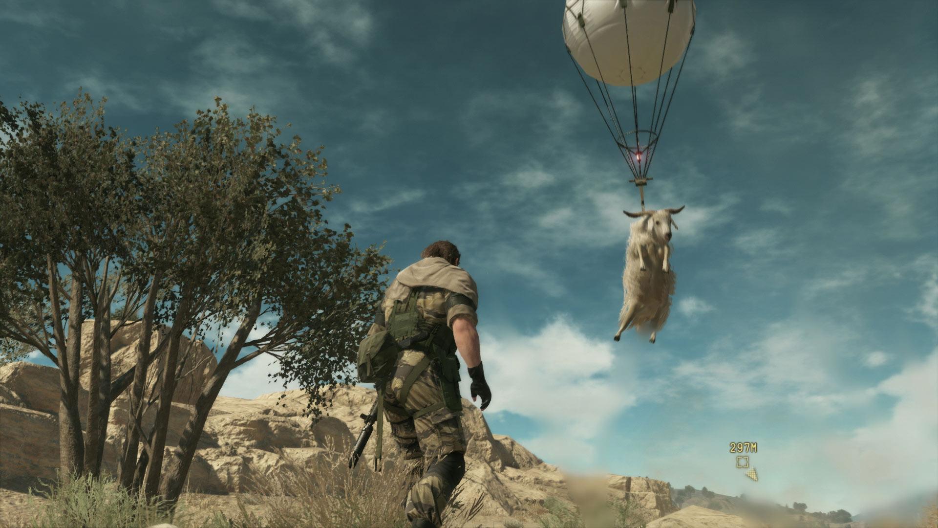 Скриншот №5 к Metal Gear Solid V The Phantom Pain