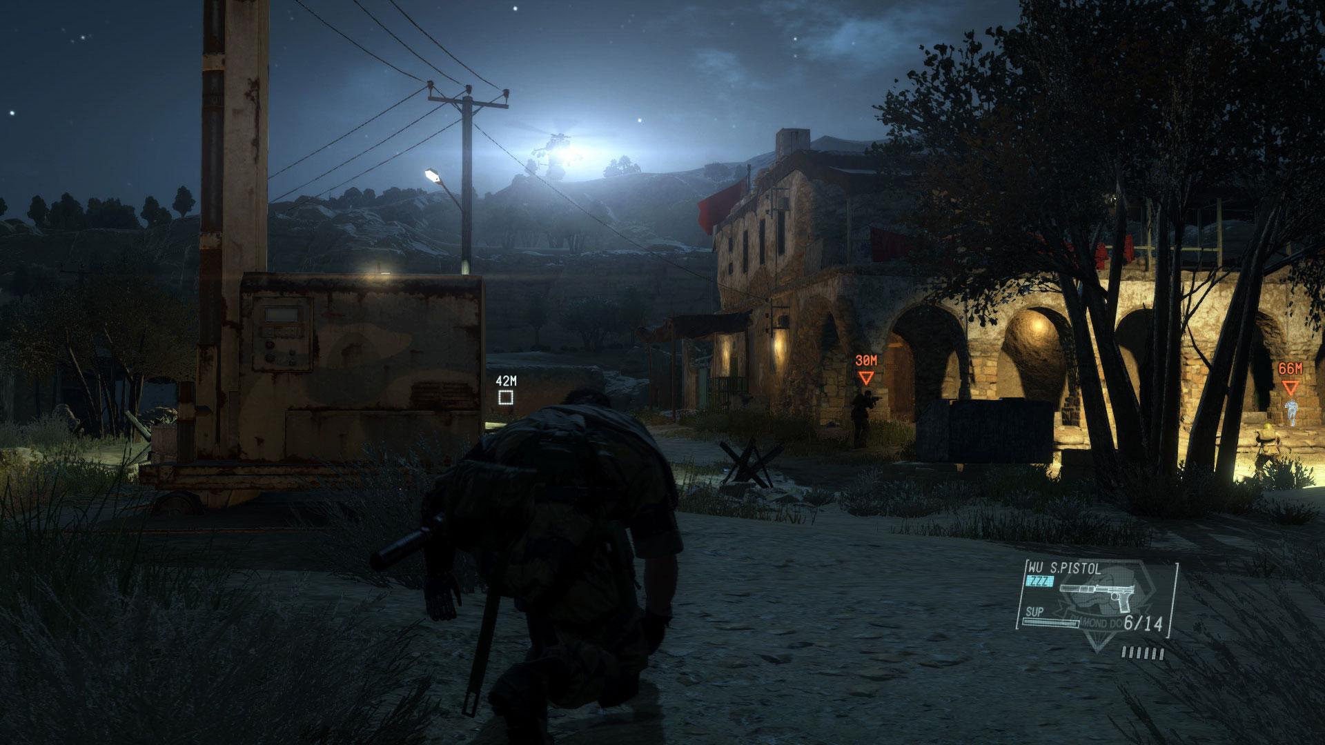 Скриншот №4 к Metal Gear Solid V The Phantom Pain