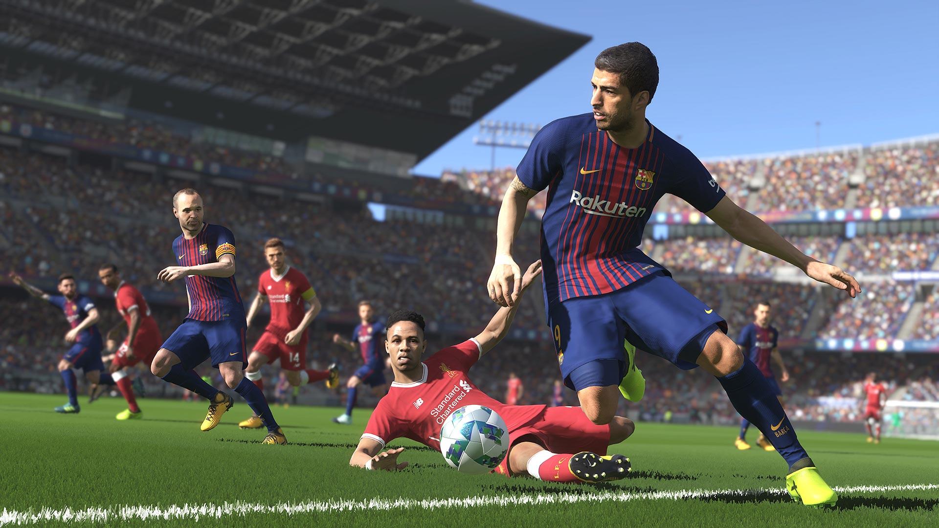 Pro Evolution Soccer 2018 On Ps4 Official Playstation