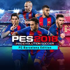 PES 2018 PRO EVOLUTION SOCCER - FC Barcelona Edition Pre-Order