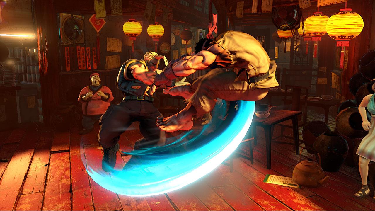 Скриншот №4 к Street Fighter V