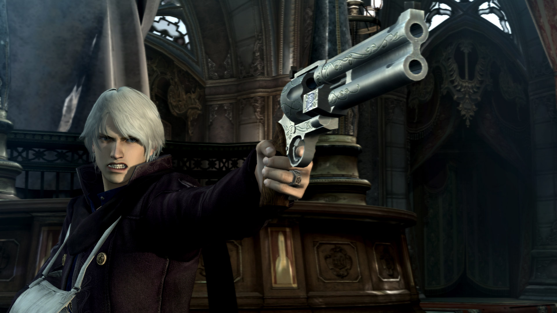 Скриншот №1 к Devil May Cry 4 Special Edition