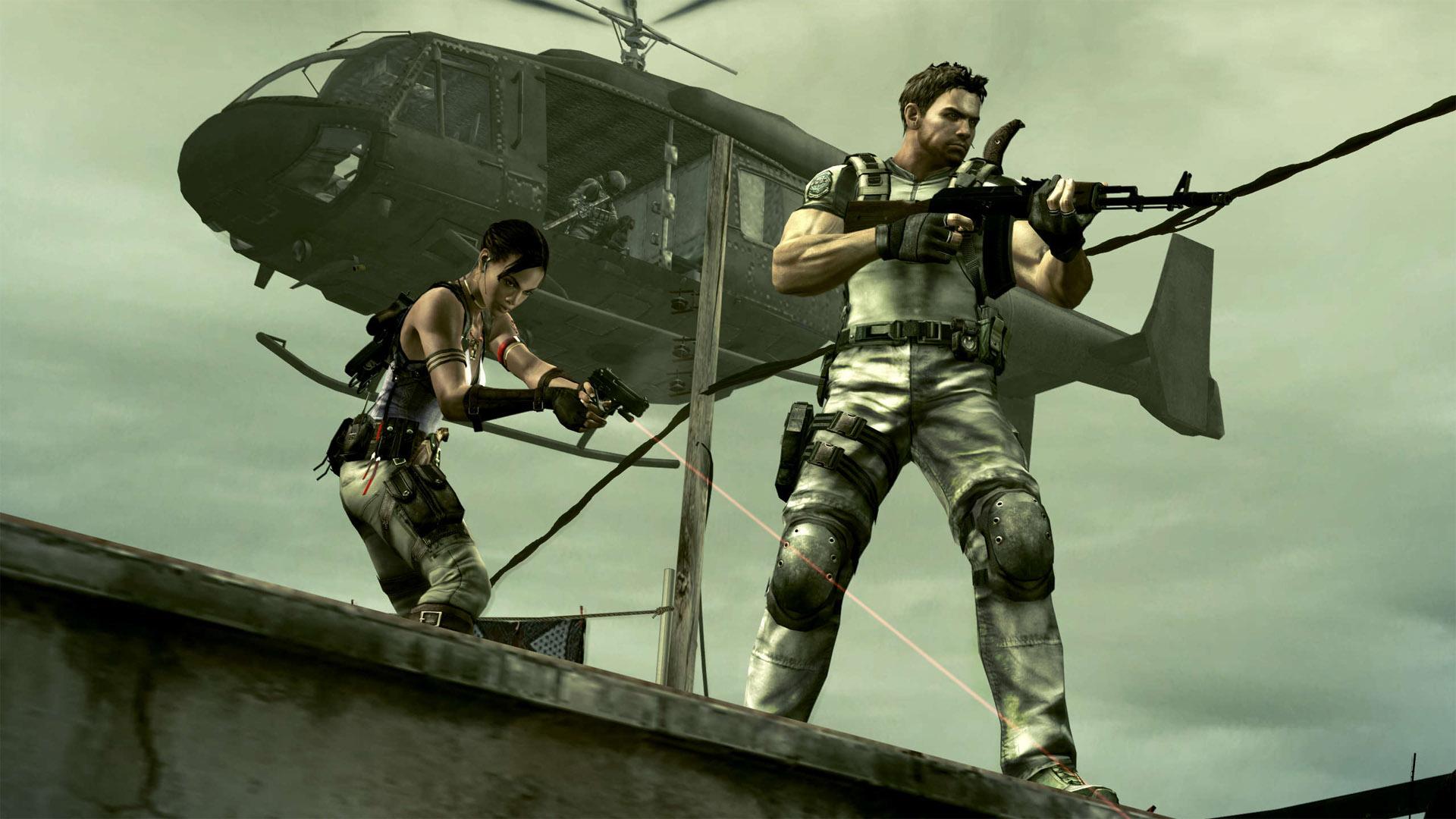 Скриншот №1 к RESIDENT EVIL 5