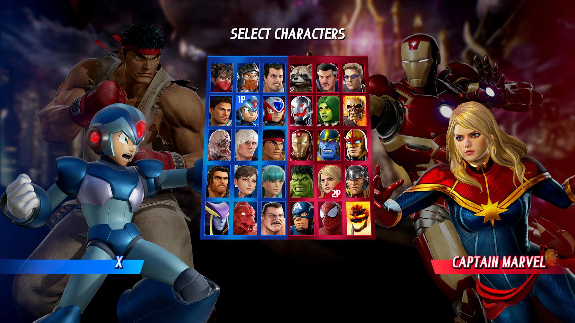 Скриншот №10 к Marvel vs. Capcom Infinite - Deluxe Edition
