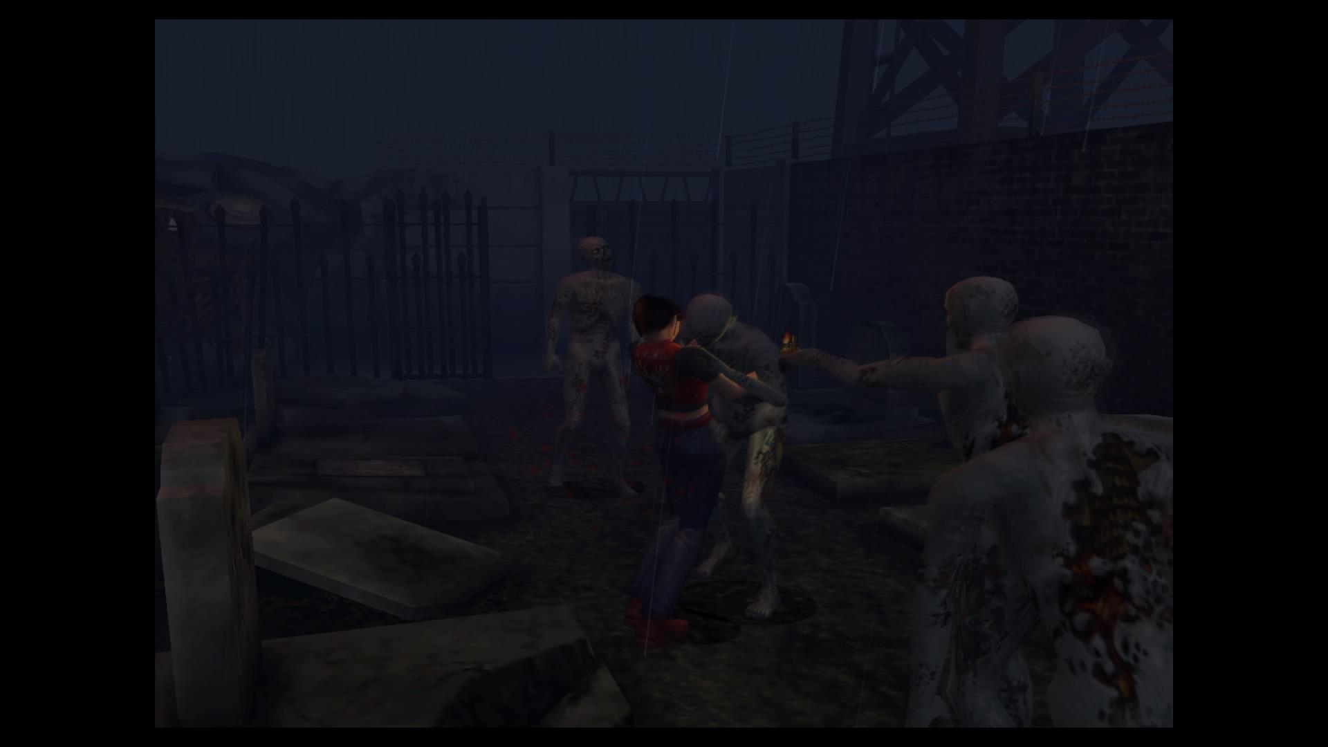 Скриншот №3 к Resident Evil Code Veronica X