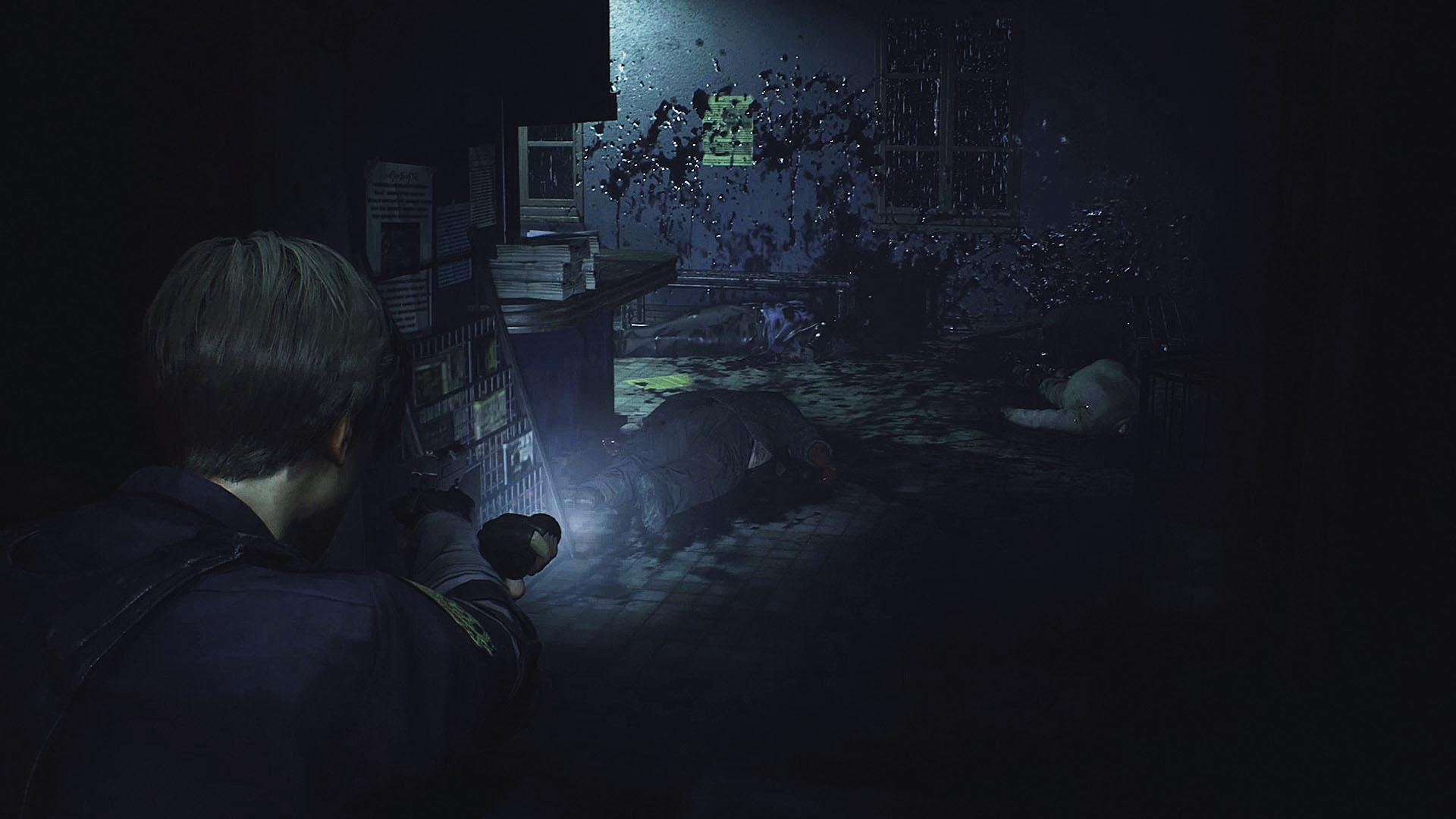Скриншот №5 к RESIDENT EVIL 2