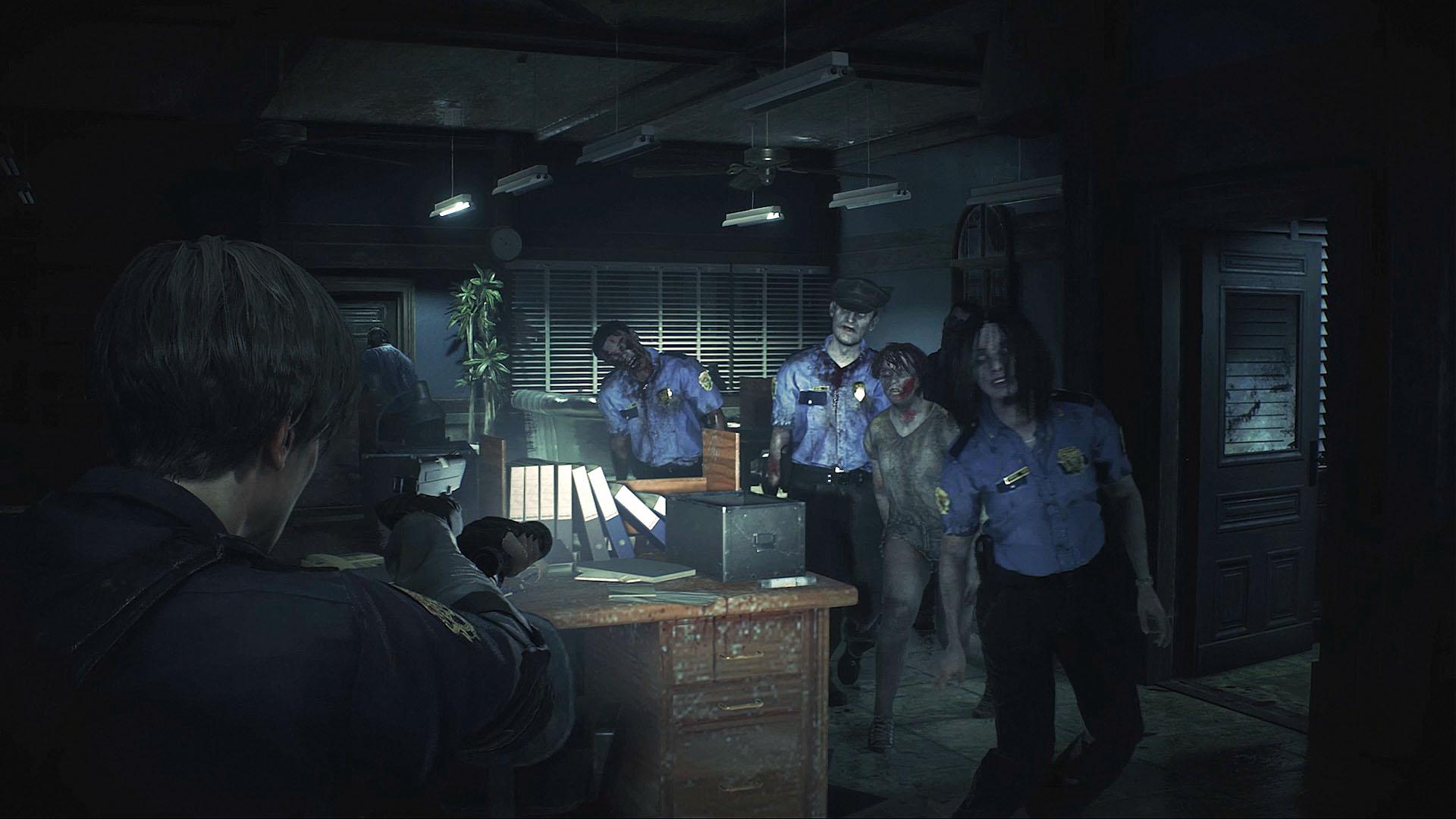 Скриншот №8 к RESIDENT EVIL 2