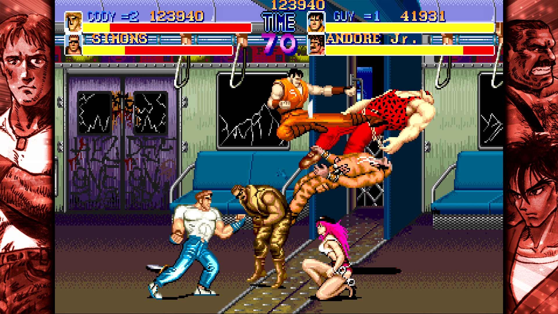 Скриншот №1 к Capcom Beat Em Up Bundle