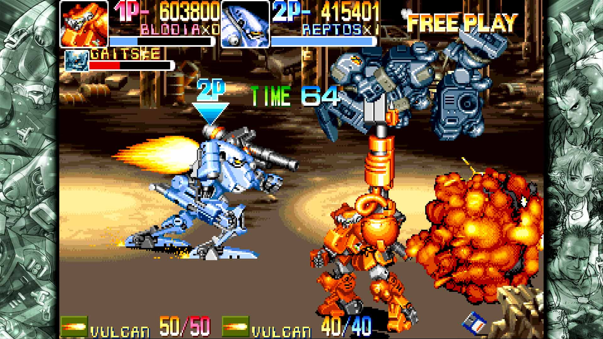 Скриншот №6 к Capcom Beat Em Up Bundle
