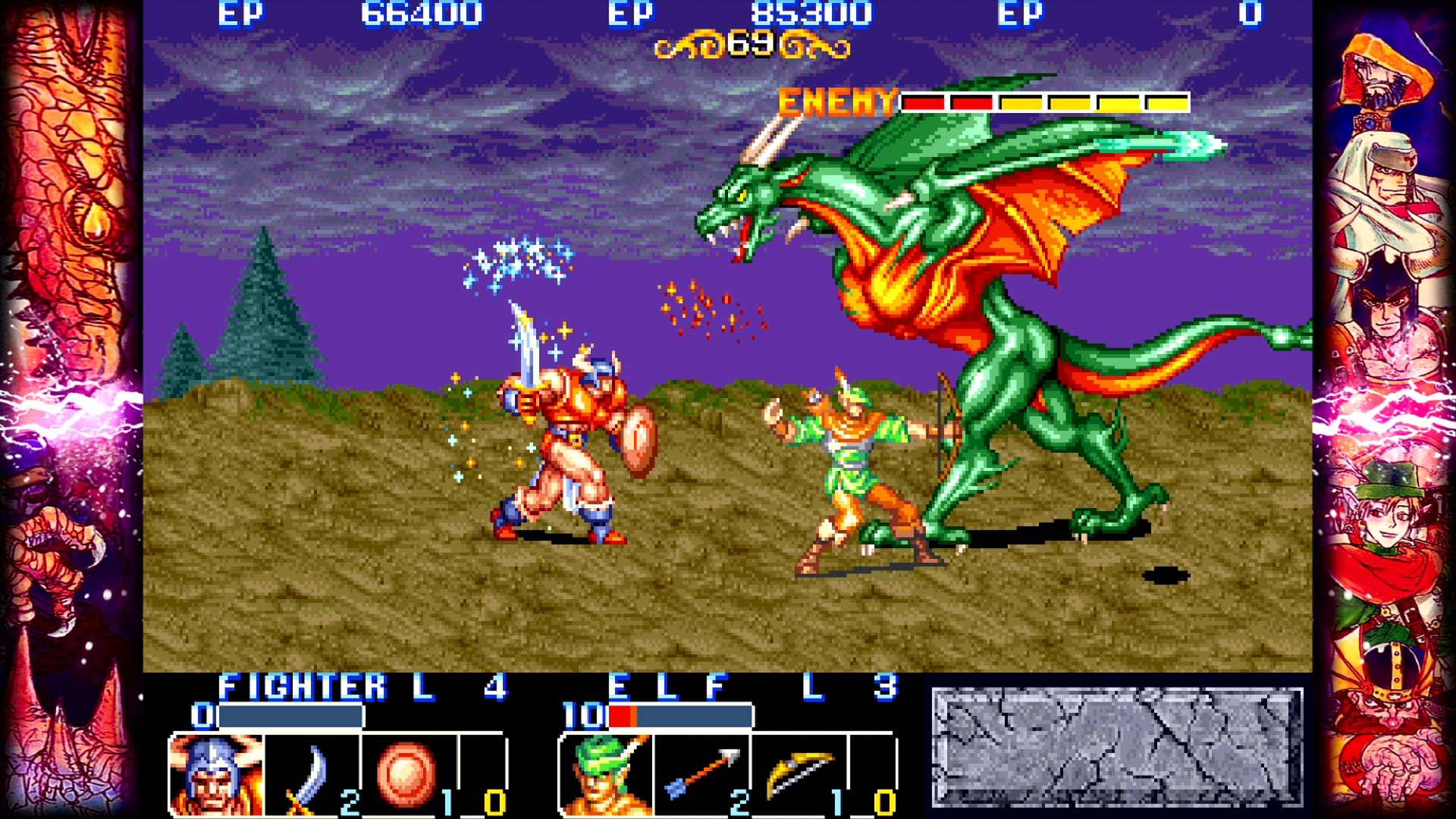 Скриншот №4 к Capcom Beat Em Up Bundle