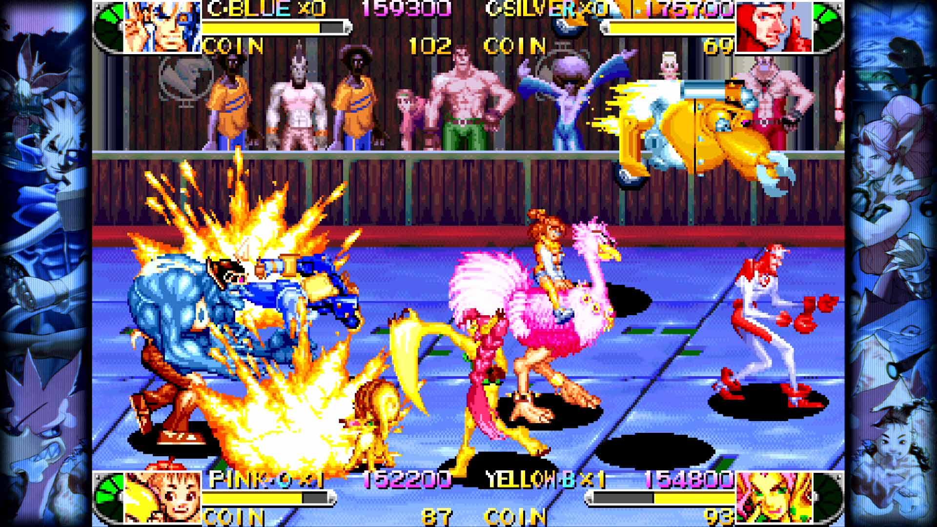Скриншот №7 к Capcom Beat Em Up Bundle