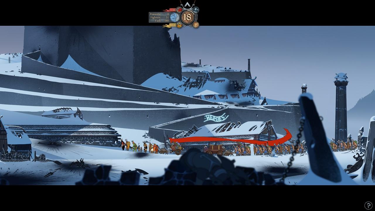 Скриншот №10 к Banner Saga 1