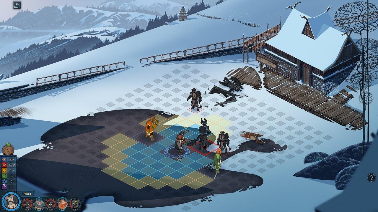 Скриншот №2 к Banner Saga 1