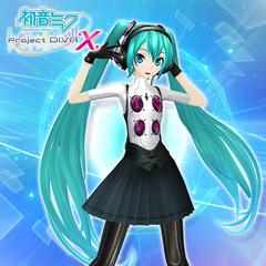Hatsune Miku: Project DIVA X - P4: Dancing All Night Miku