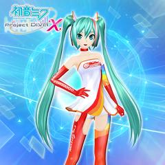 Hatsune Miku: Project DIVA X - Racing Miku 2016
