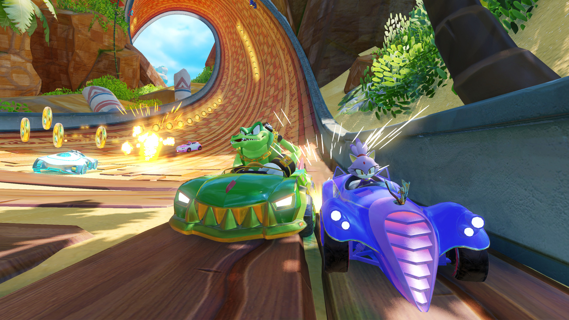 Скидка на Team Sonic Racing (PS4)