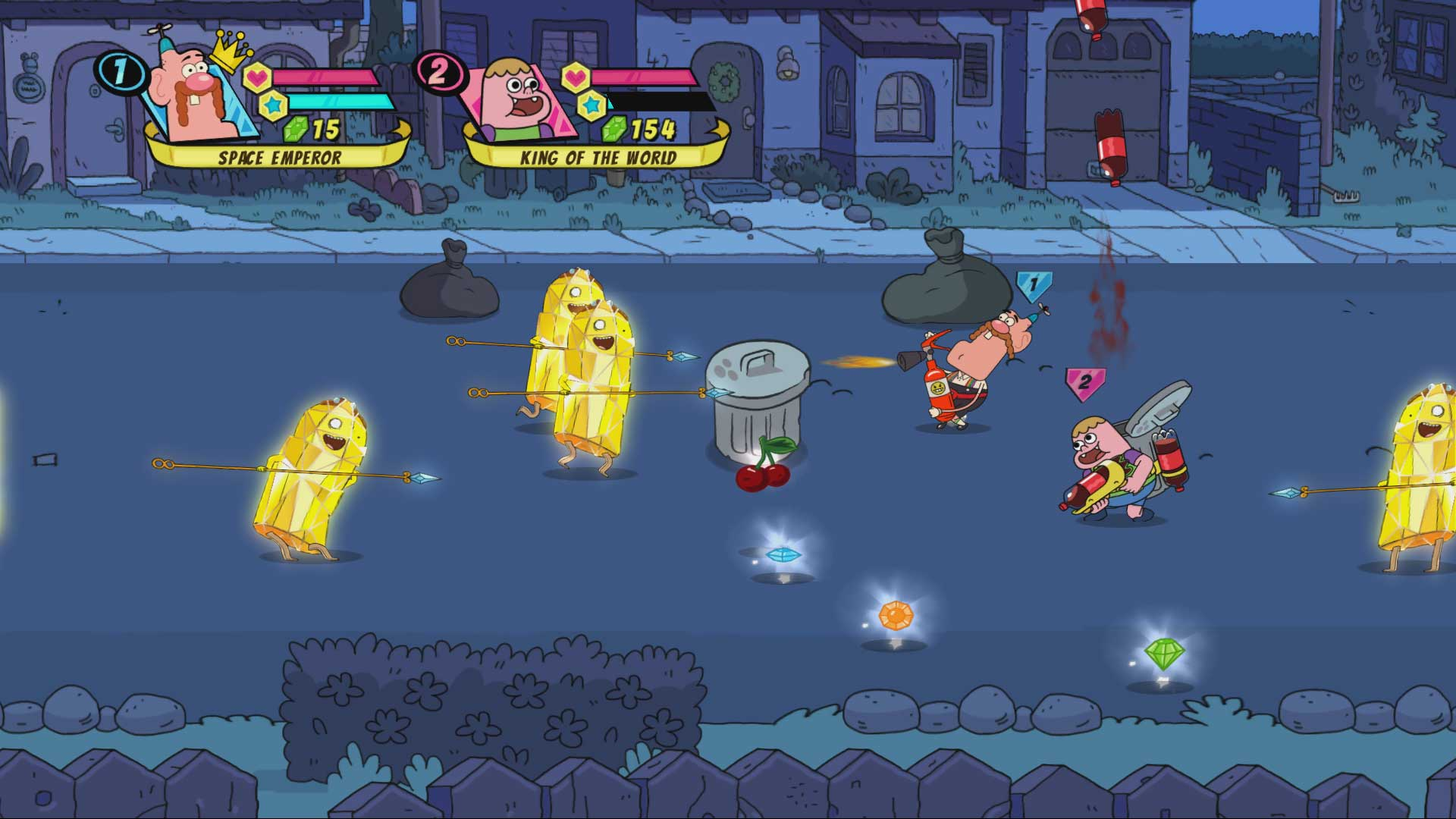 Скриншот №1 к Cartoon Network Battle Crashers