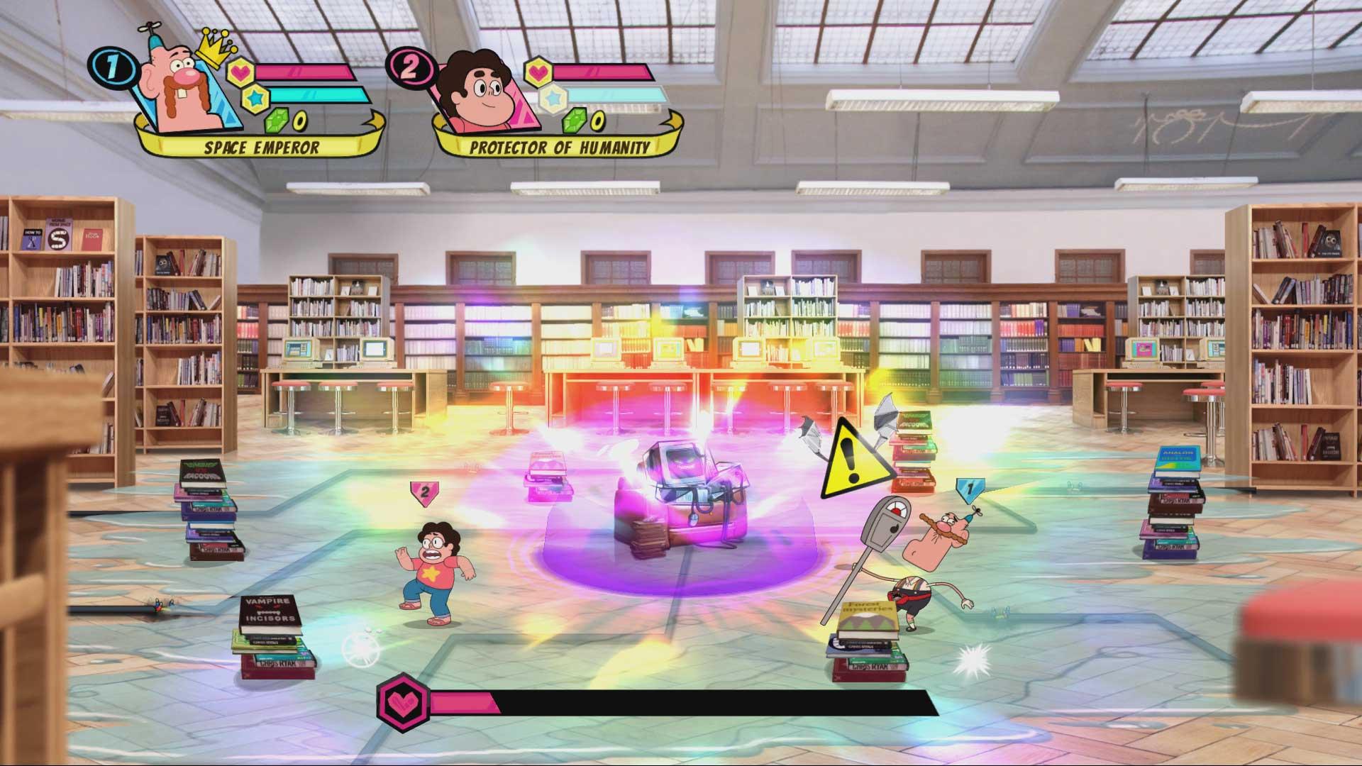 Скриншот №3 к Cartoon Network Battle Crashers