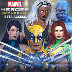 Marvel Heroes Omega - X-Men Founder's Pack