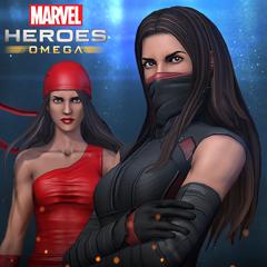 Marvel Heroes Omega - Pack Elektra