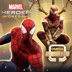 Marvel Heroes Omega - Pack de prestige Omega pour Spider-Man