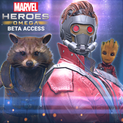 Marvel Heroes Omega - Guardians of the Galaxy Founder's Pack