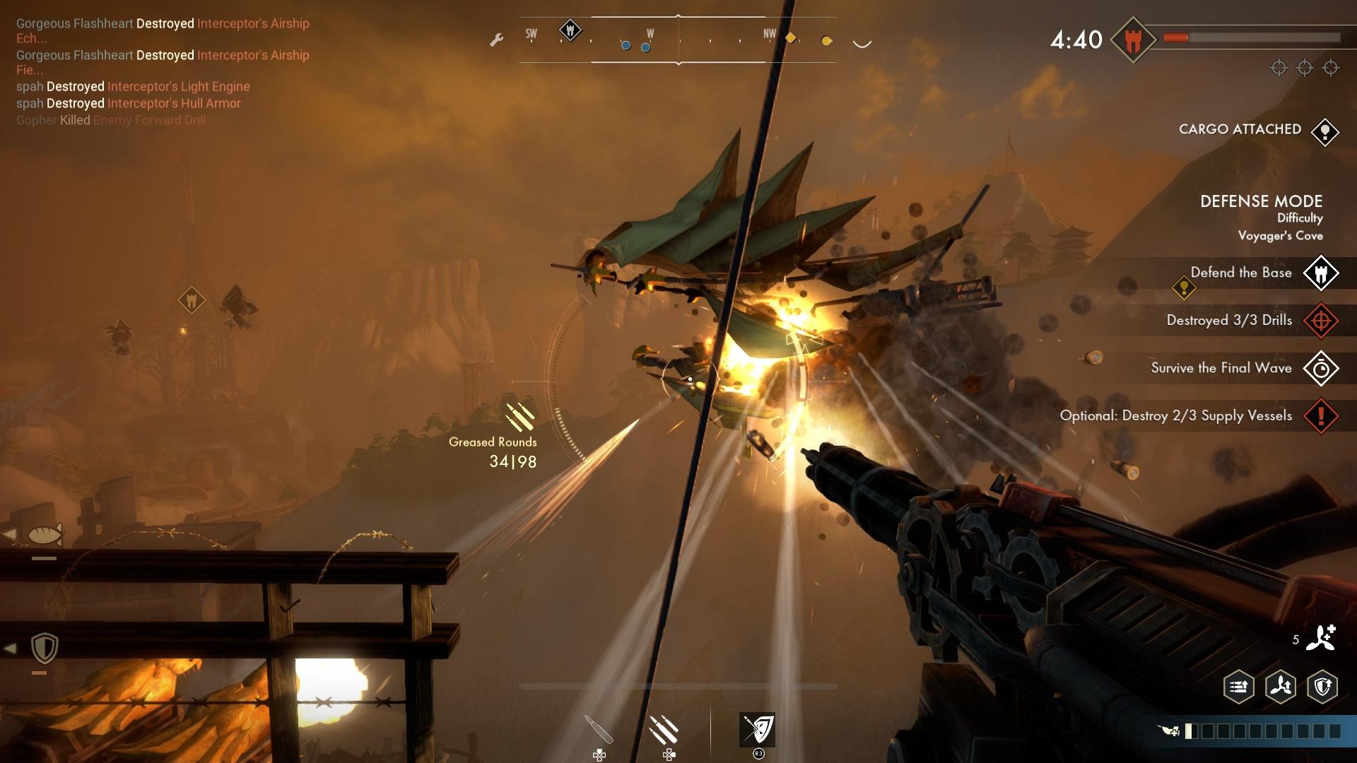 Скриншот №4 к Guns of Icarus Alliance