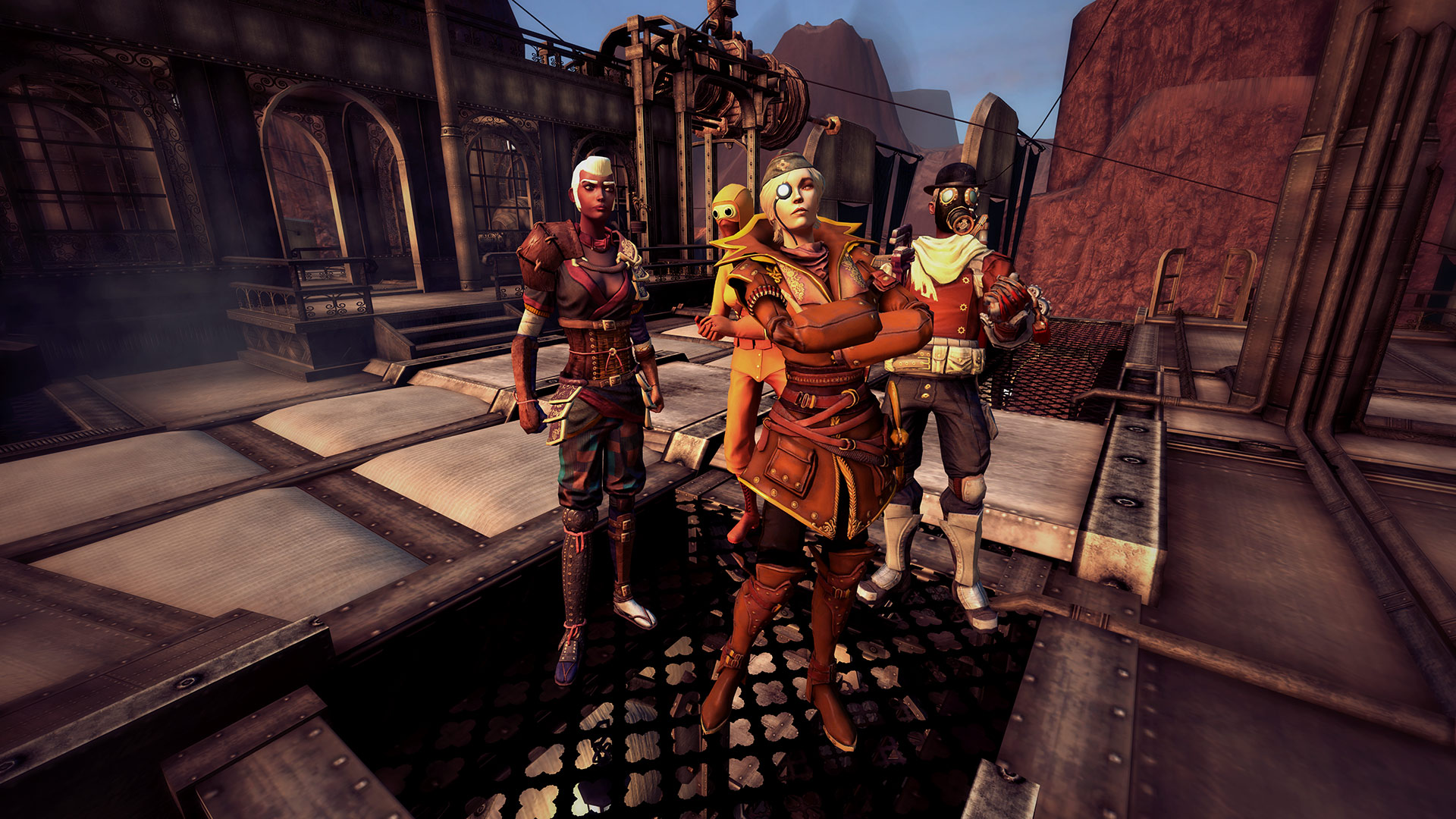 Скриншот №7 к Guns of Icarus Alliance