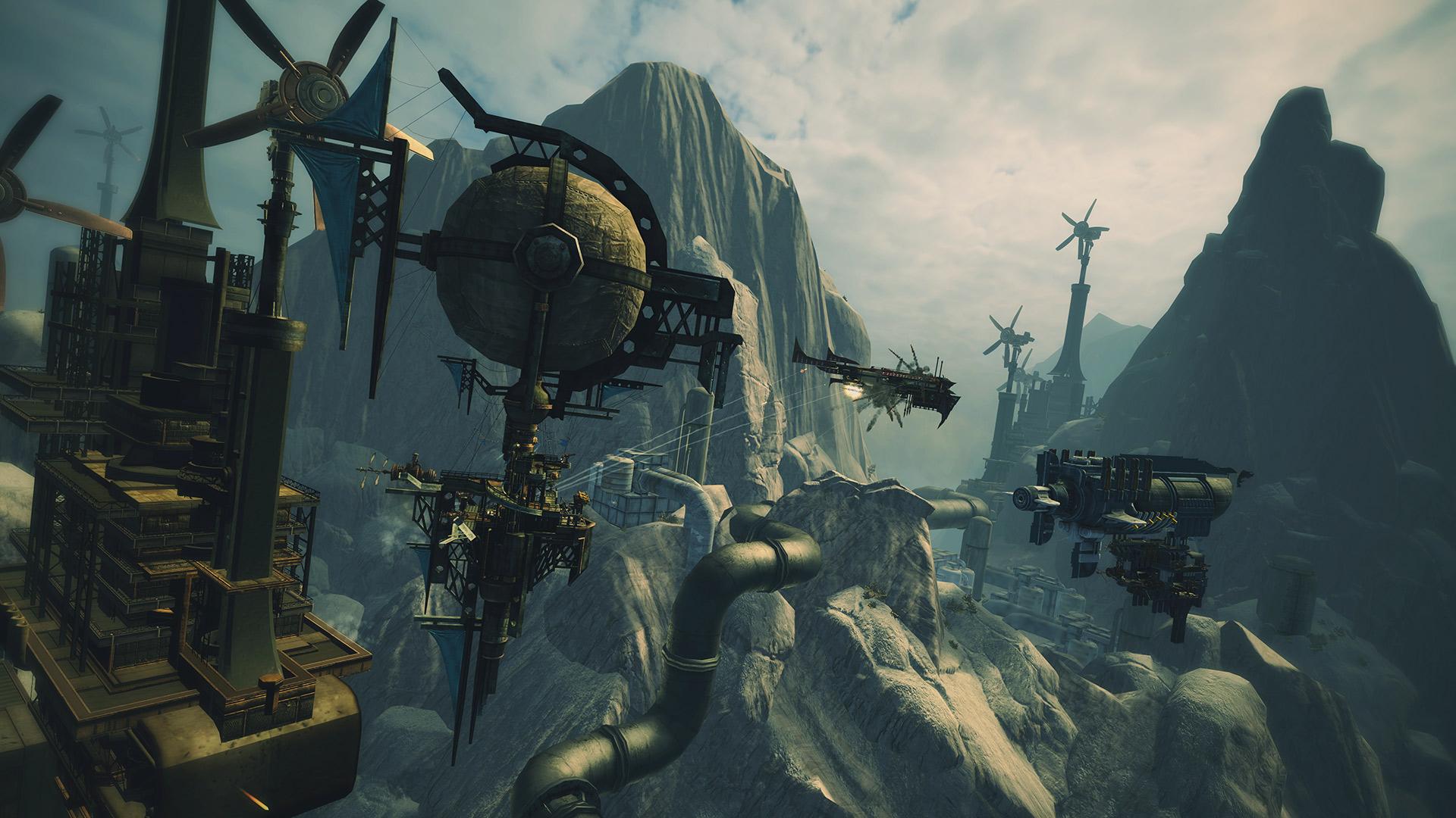 Скриншот №5 к Guns of Icarus Alliance