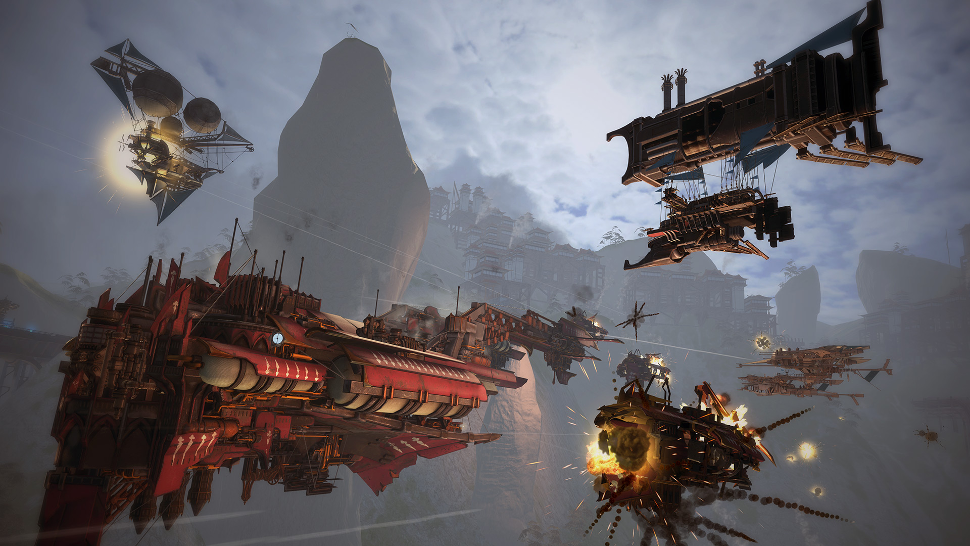 Скриншот №1 к Guns of Icarus Alliance
