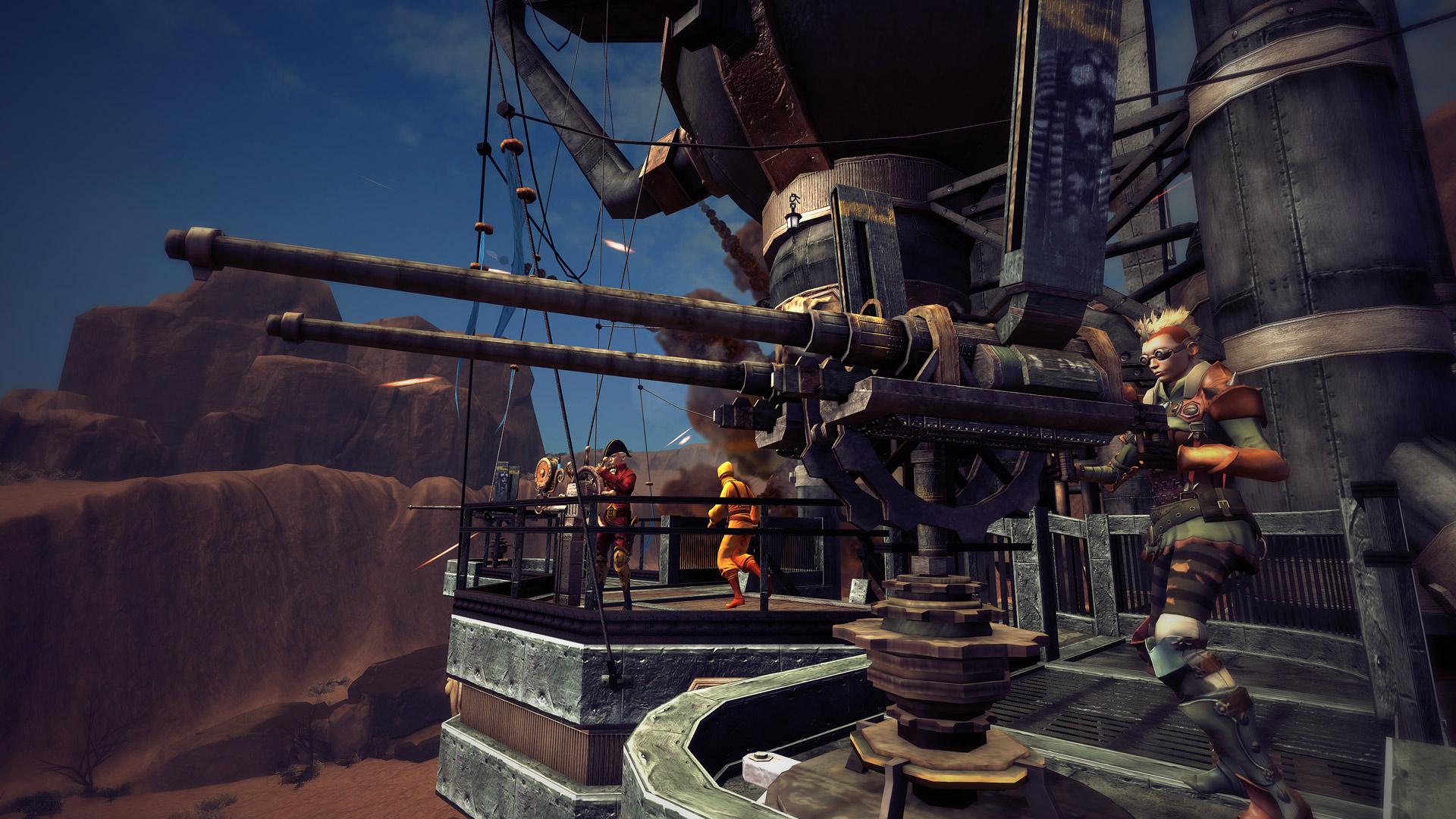 Скриншот №2 к Guns of Icarus Alliance