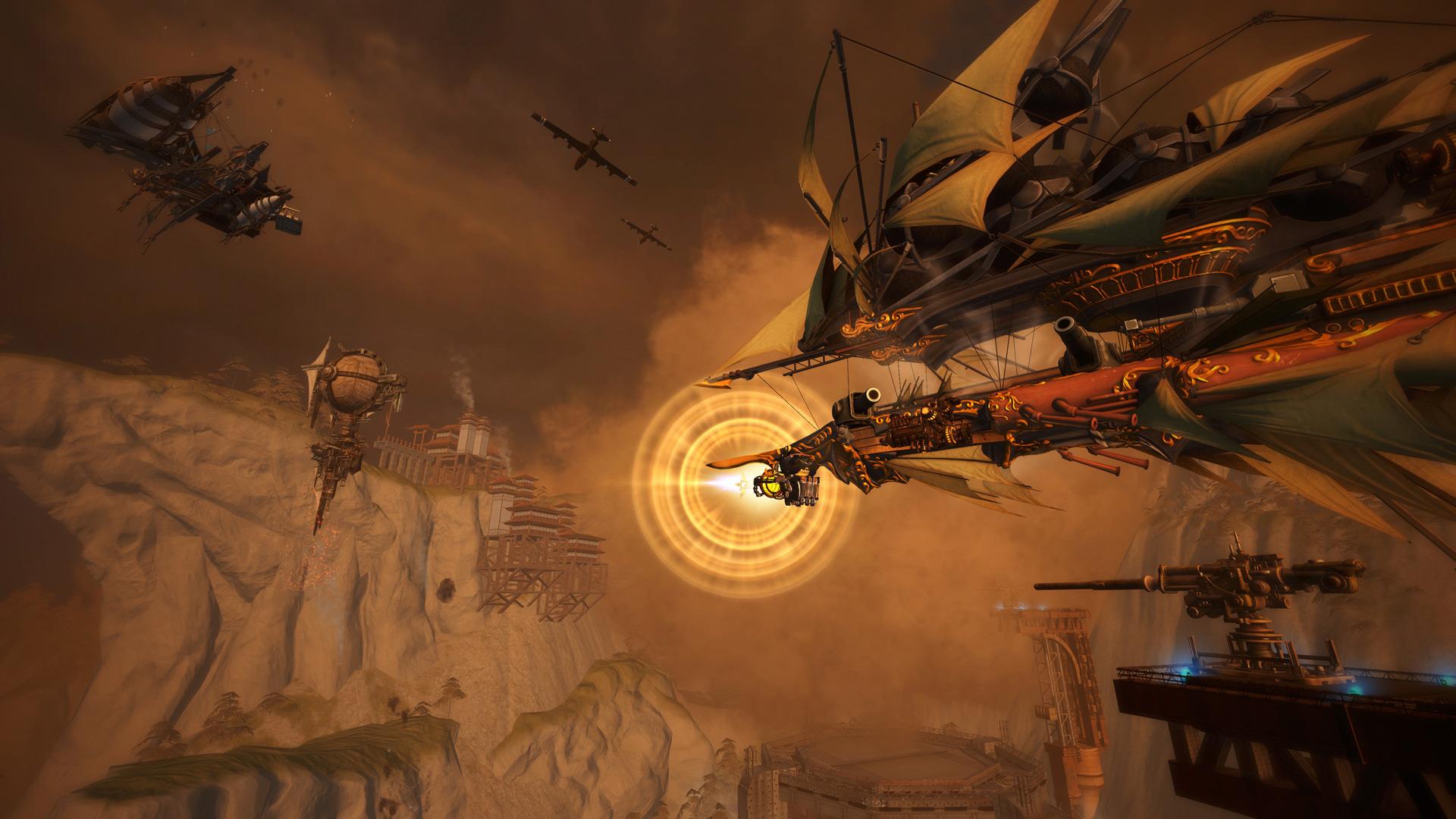 Скриншот №3 к Guns of Icarus Alliance